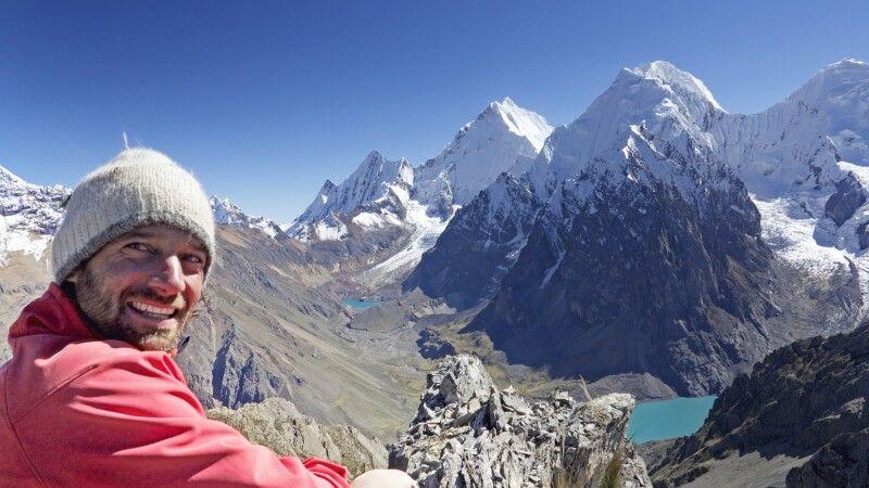 Marcus Gempp, Blick auf die Cordillera Huayhuash © Diamir