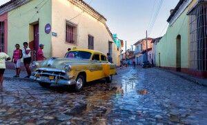 Oldtimer in Cienfuegos, Kuba